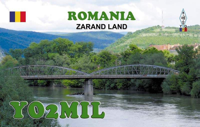 QSL image for YO2MIL