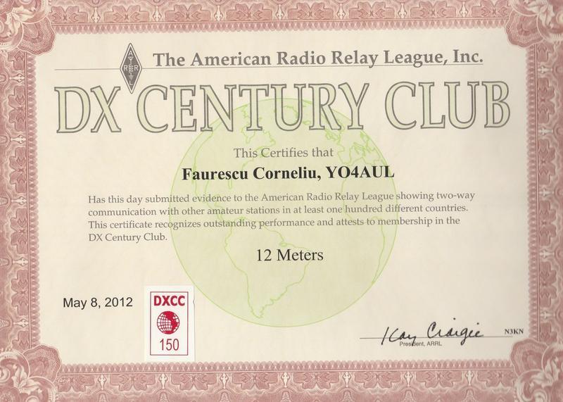 DXCC 12 Meters