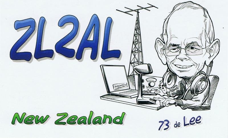 QSL image for ZL2AL