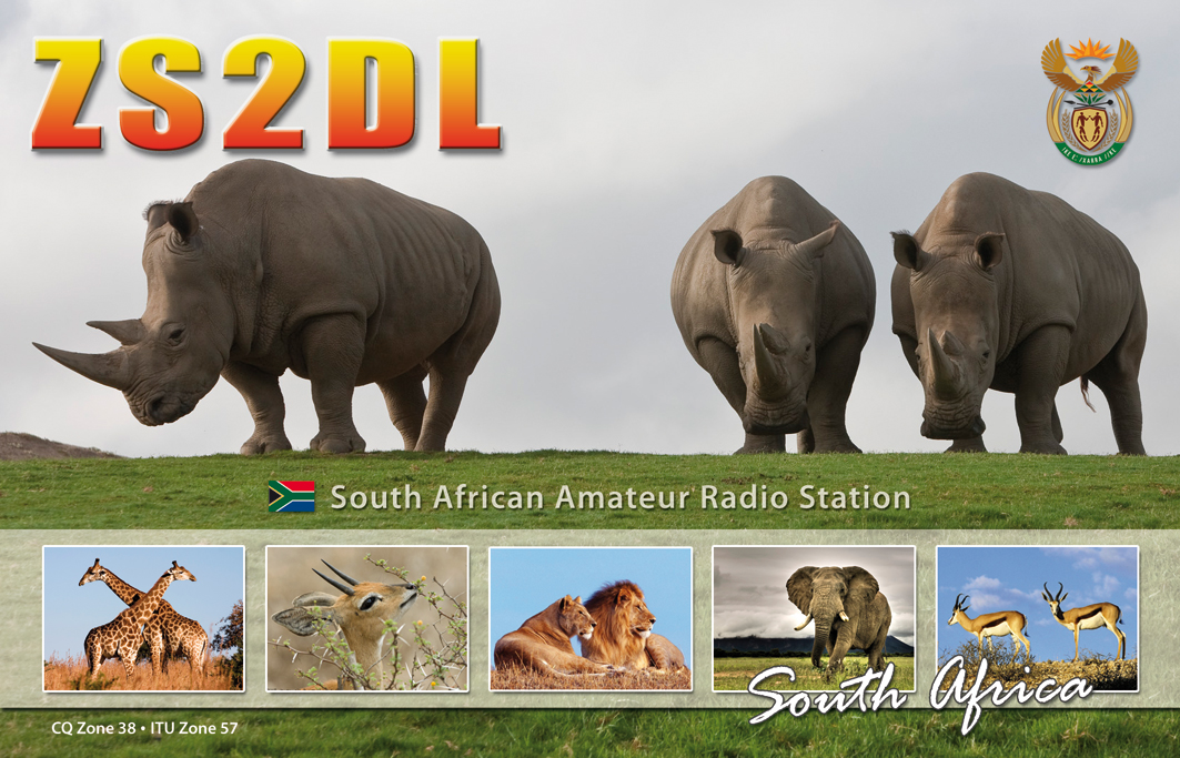 QSL image for ZS2DL