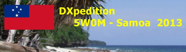 QSL image for 5W0M
