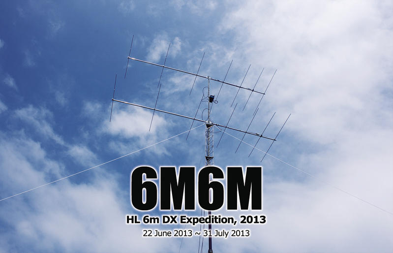 QSL image for 6M6M