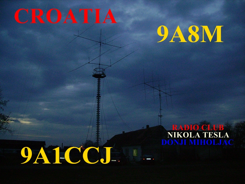 QSL image for 9A8M