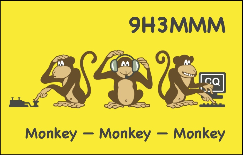 QSL image for 9H3MMM