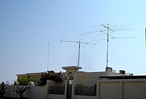 A71EM's antennas