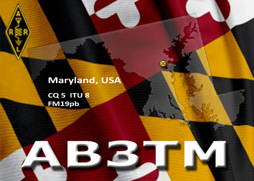 QSL image for AB3TM