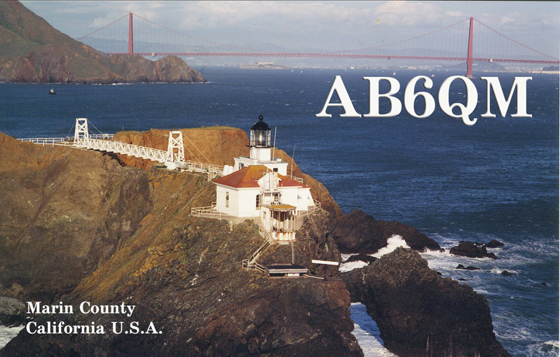 QSL image for AB6QM