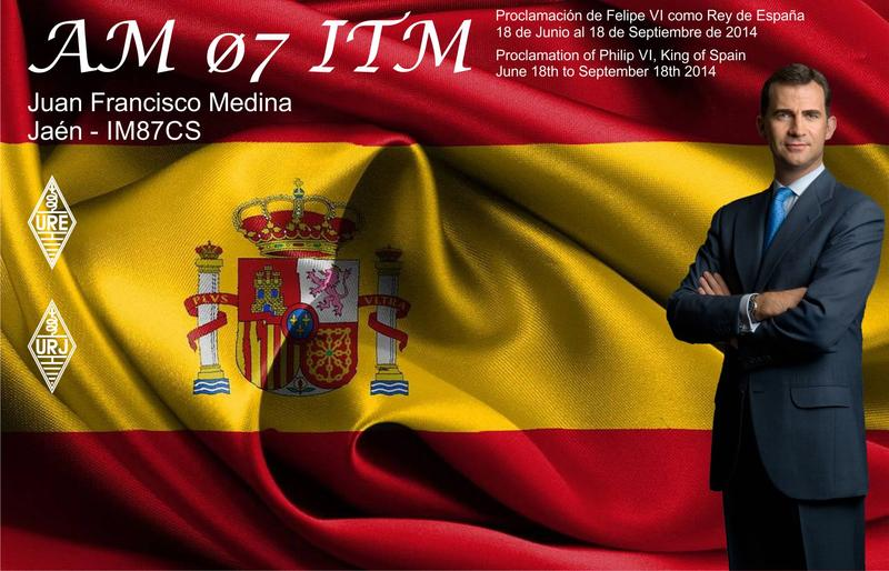 QSL image for AM07ITM
