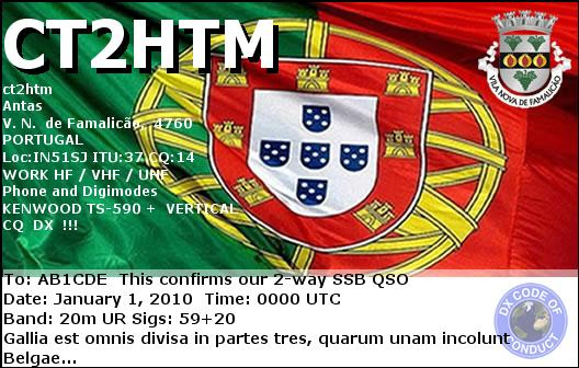 QSL image for CT2HTM