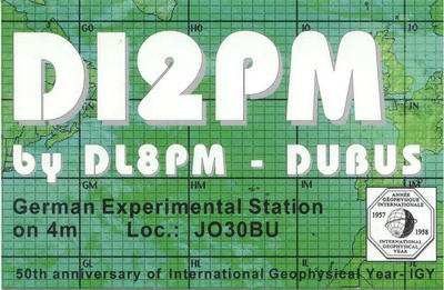 QSL image for DI2PM