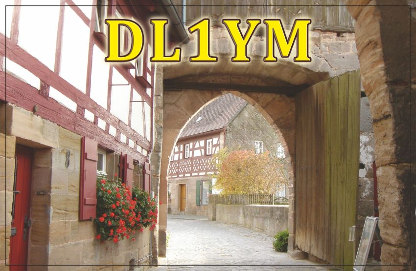QSL image for DL1YM