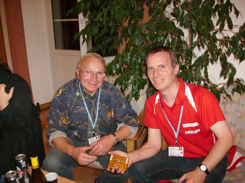2012 in Switzerland with Piero Begali I2RTF, father of my best key.