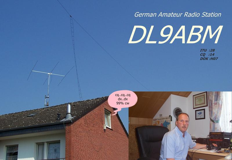 QSL image for DL9ABM