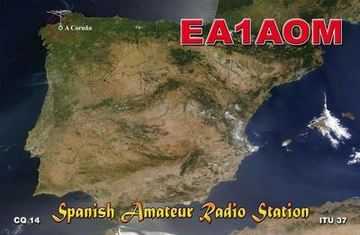 QSL image for EA1AOM
