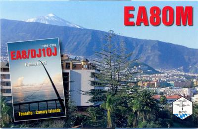 QSL image for EA8OM