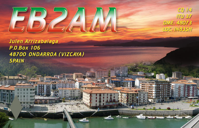 QSL image for EB2AM