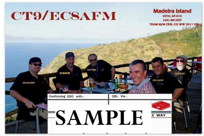 QSL image for EC8AFM
