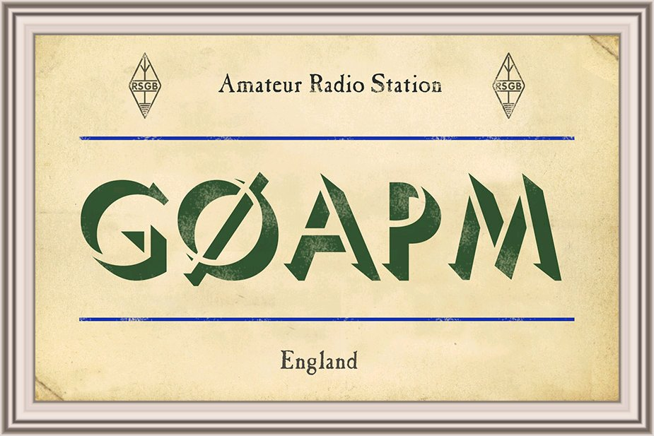 QSL image for G0APM