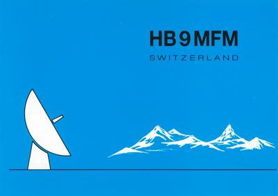 QSL image for HB9MFM