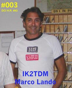 QSL image for IK2TDM