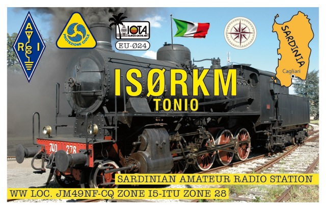 QSL image for IS0RKM