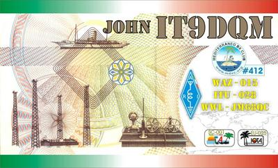 QSL image for IT9DQM