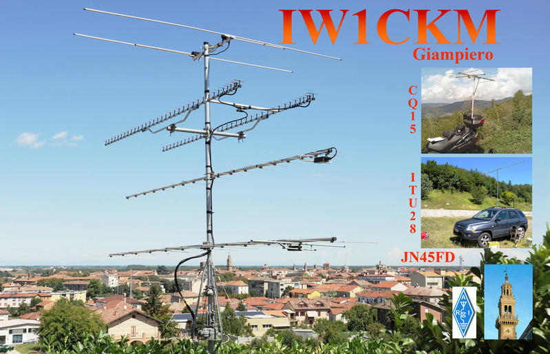 QSL image for IW1CKM