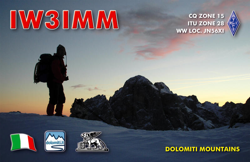 QSL image for IW3IMM