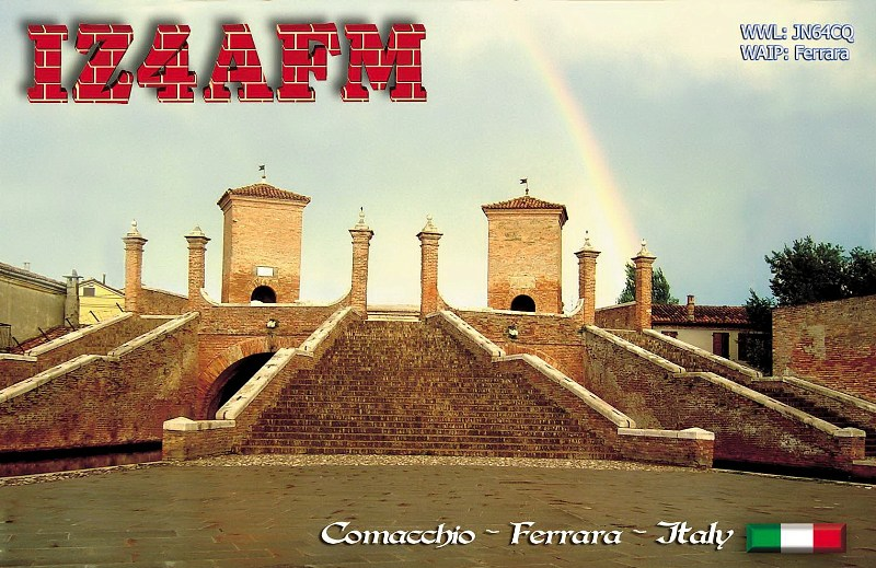 QSL image for IZ4AFM