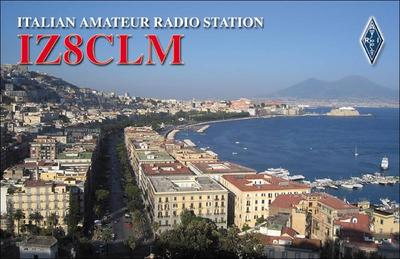 QSL image for IZ8CLM