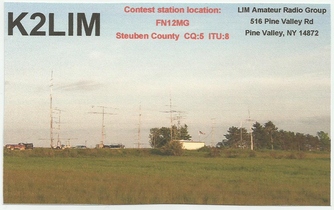 QSL image for K2LIM