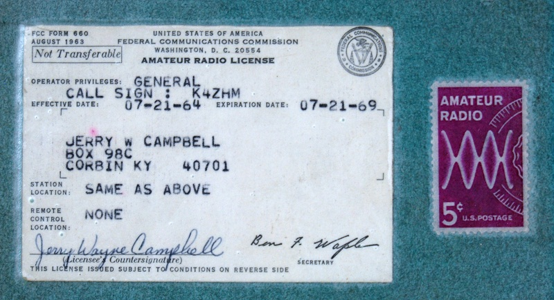 I have been in Ham Radio for a little over 50 years.