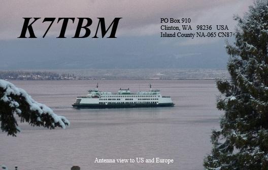 QSL image for K7TBM