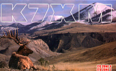 QSL image for K7XM