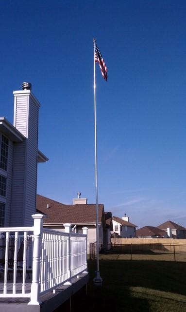 Zerofive 30 foot flagpole antenna
