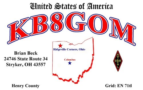 QSL image for KB8GOM