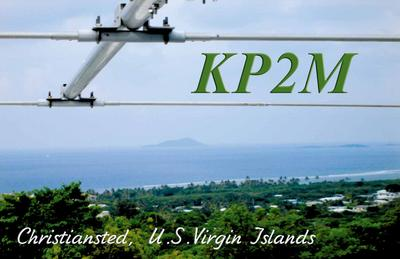 QSL image for KP2M