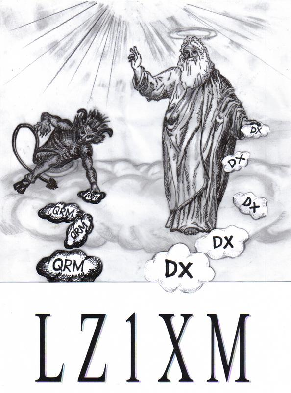 QSL image for LZ1XM