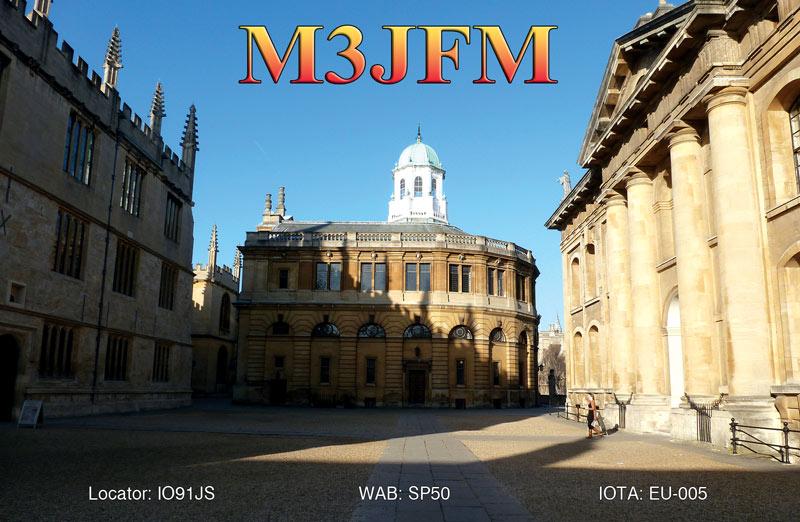 QSL image for M3JFM