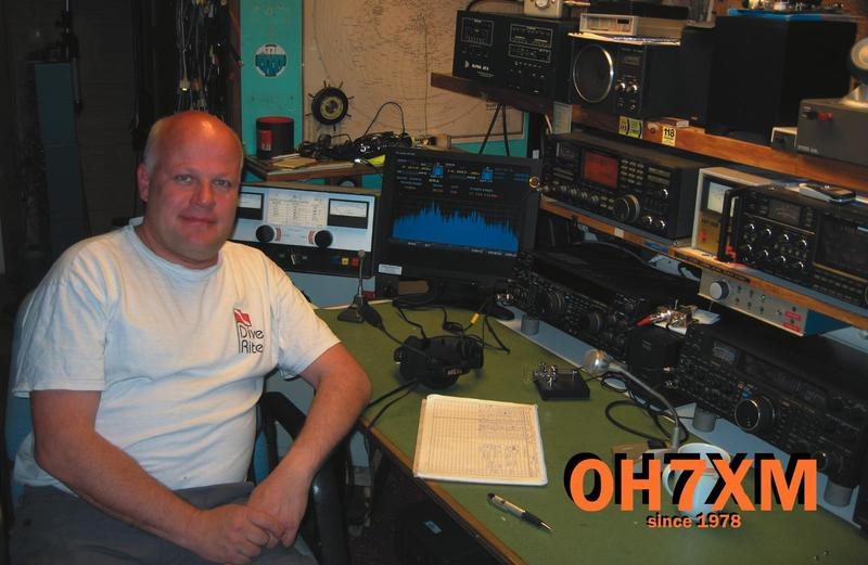QSL image for OH7XM