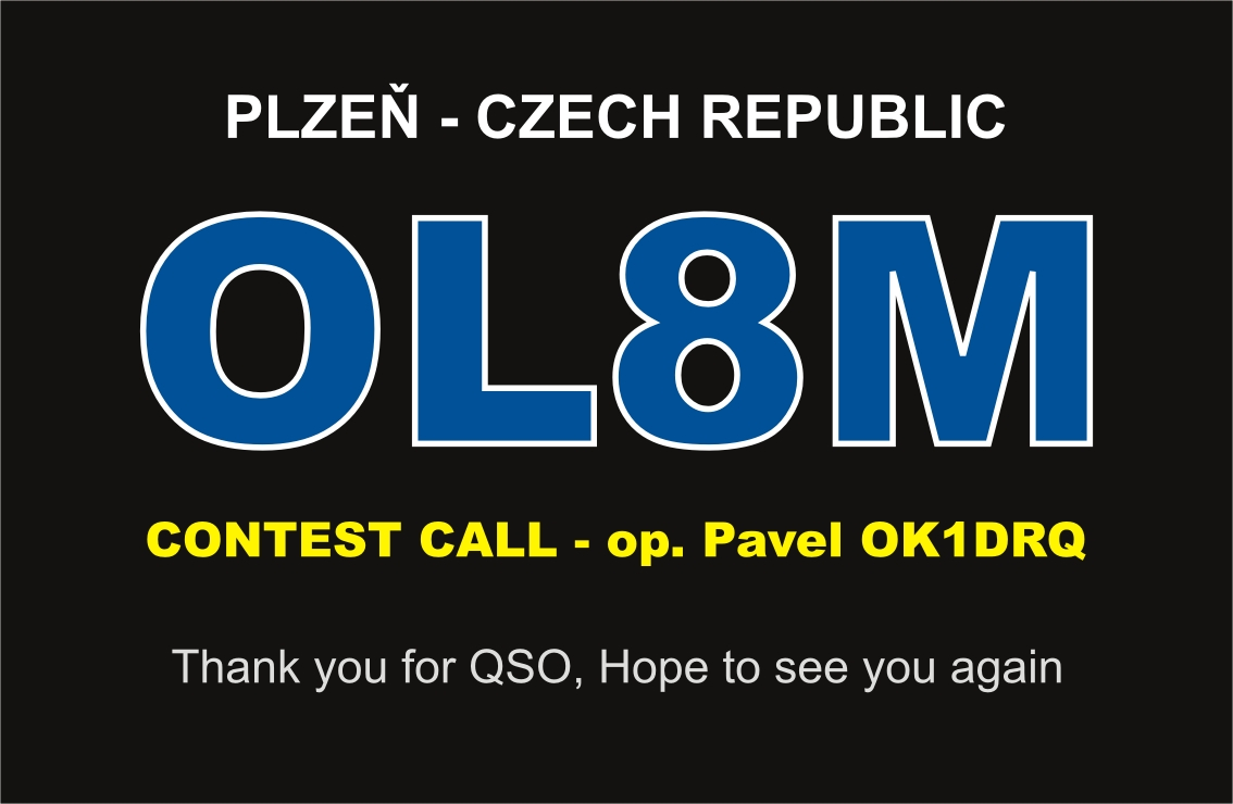 QSL image for OL8M
