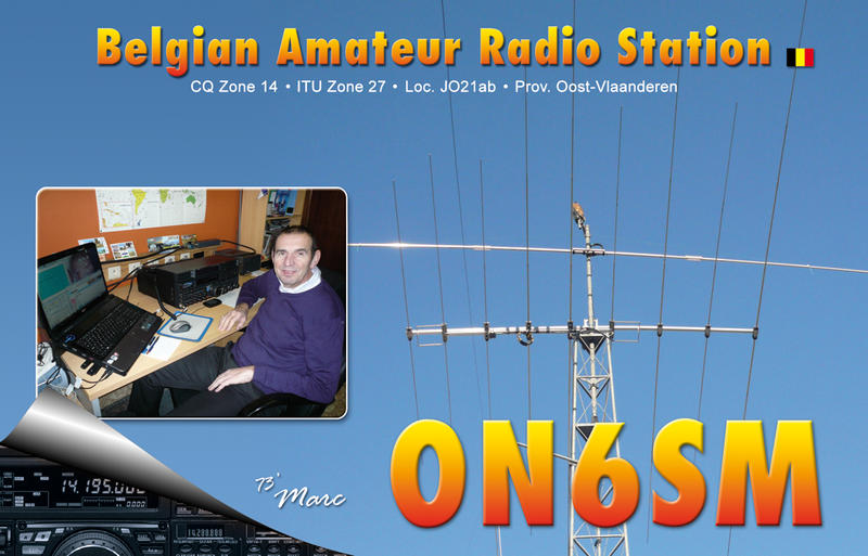QSL image for ON6SM