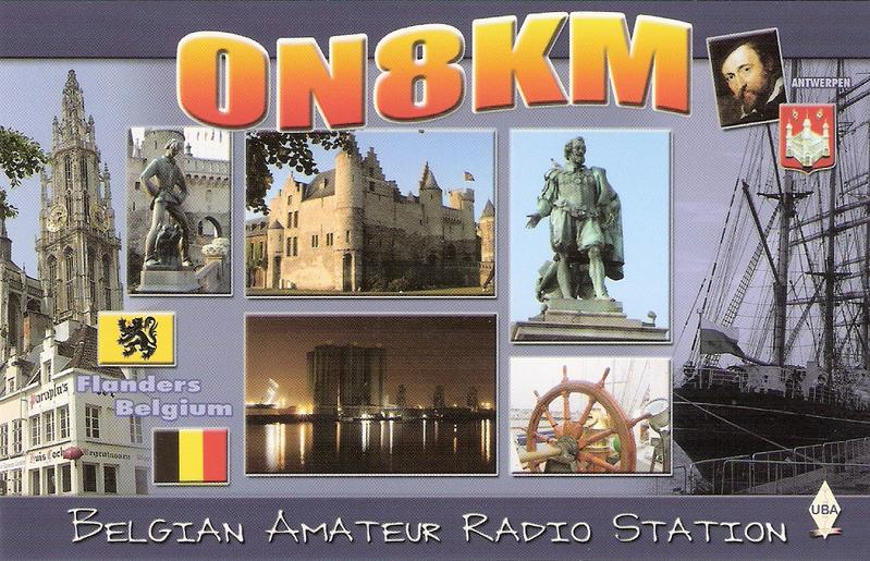 QSL image for ON8KM