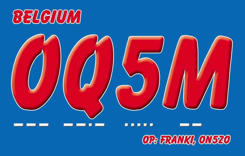 QSL image for OQ5M