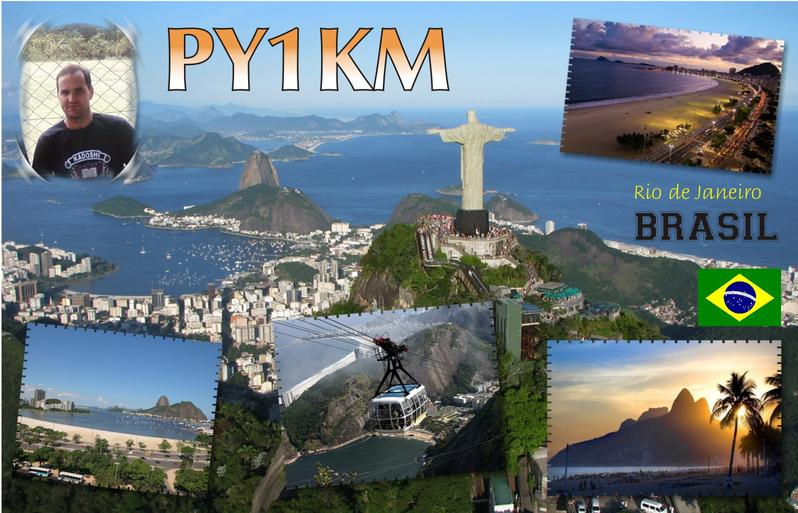 QSL image for PY1KM