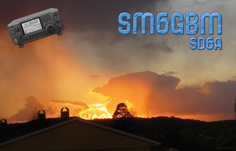 QSL image for SM6GBM
