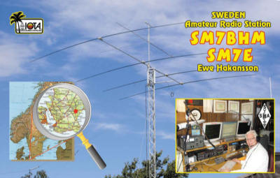 QSL image for SM7BHM