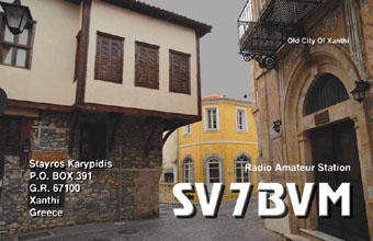 QSL image for SV7BVM