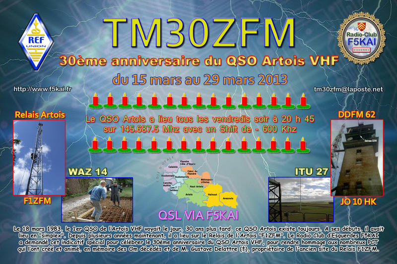 QSL image for TM30ZFM