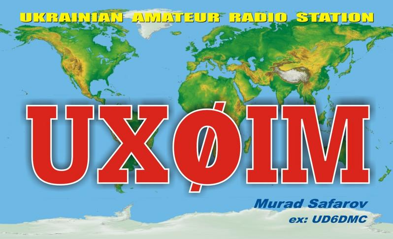 QSL image for UX0IM